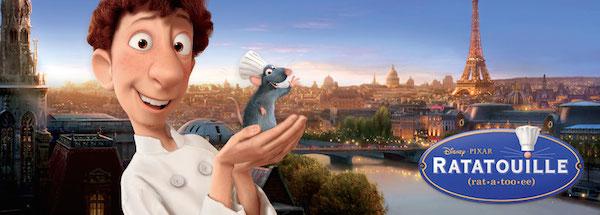 Película Ratatouille de Pixar - Disney