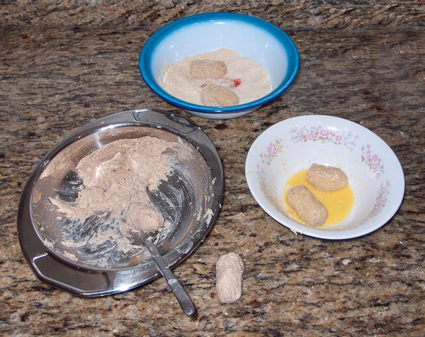 Proceso de elaboración de las croquetas de cocido caseras