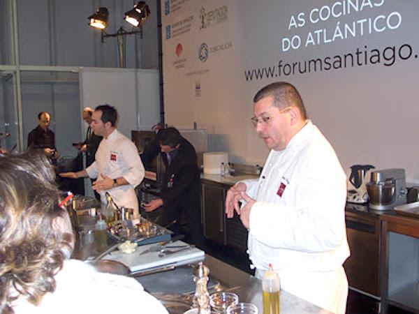 Tomàs Cuadrado y Artur Martínez contestando a las preguntas