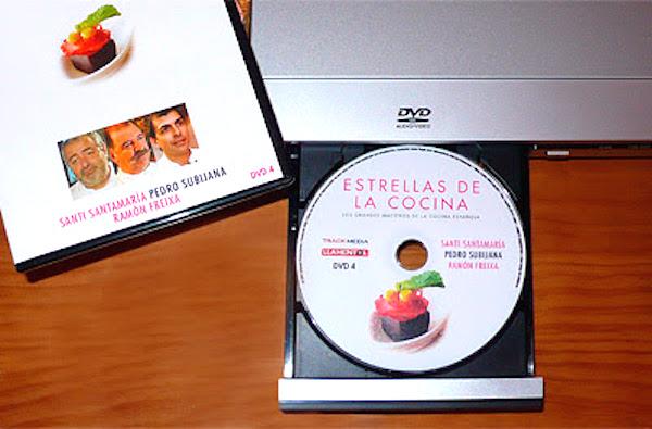 DVD 4 Estrellas de la cocina
