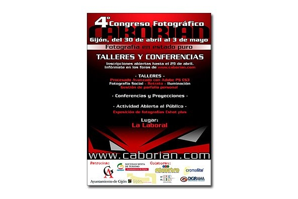 Cartel 4º Congreso Caborian