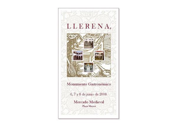 Cartel Llerena, Monumento Gastronómico