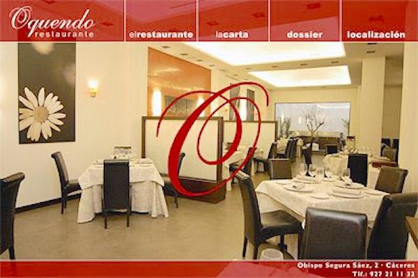 Web Restaurante Oquendo