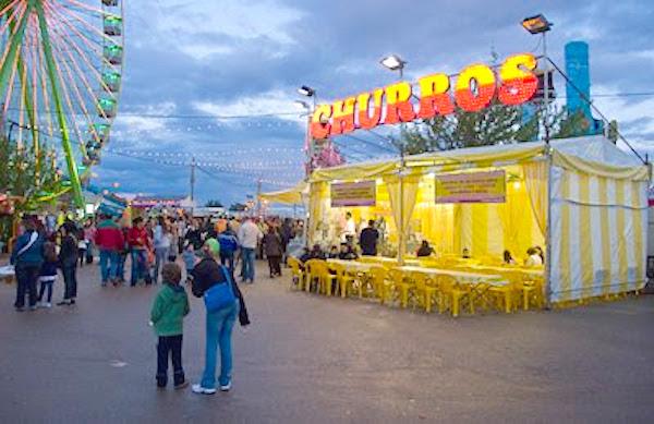 Churrería en la Feria de San Fernando (Cáceres)