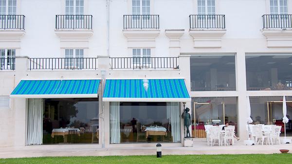 Restaurante y terraza Pousada Santa Cristina