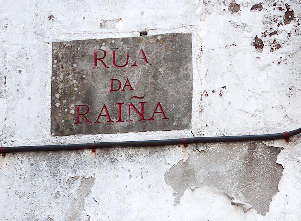 Rúa da Raiña