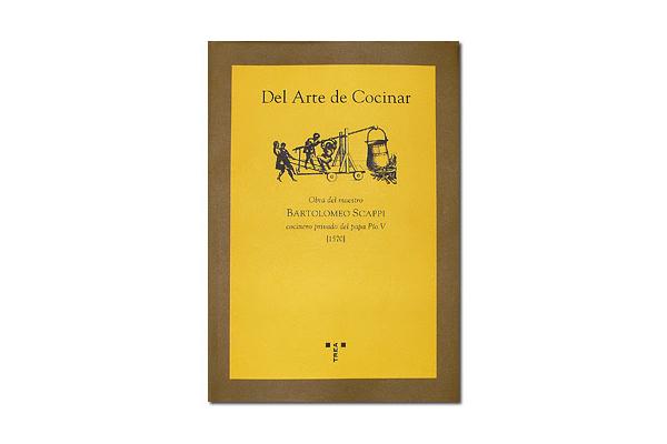 Portada del libro Del Arte de Cocinar de Bartolomeo Scappi