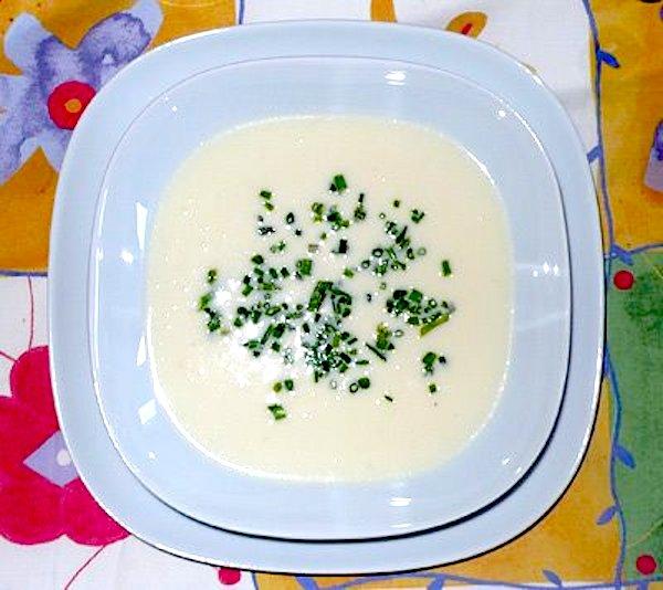 Vichyssoise, una crema fría