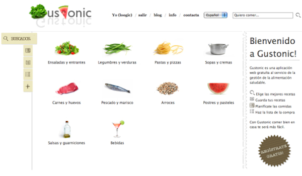Web de Gustonic