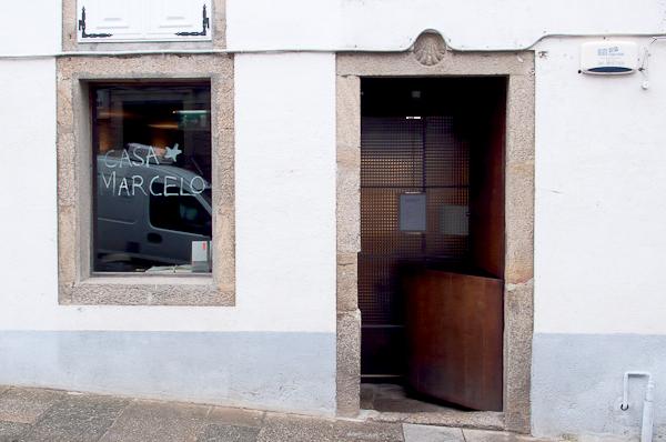 Entrada al restaurante Casa Marcelo