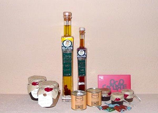 Selección de productos gourmet artesanos Frágola