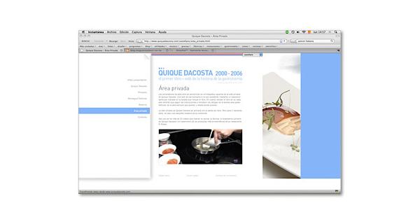 Web Quique Dacosta