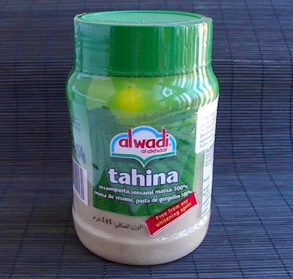Bote de tahina