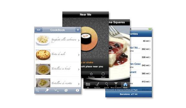 Más app de gastronomía