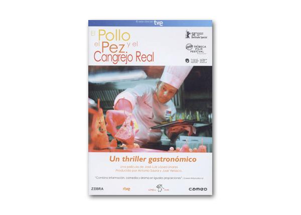 Carátula del DVD El pollo, el pez y el cangrejo real