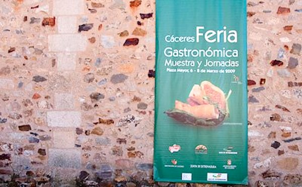 Cartel de la IV Feria Gastronómica