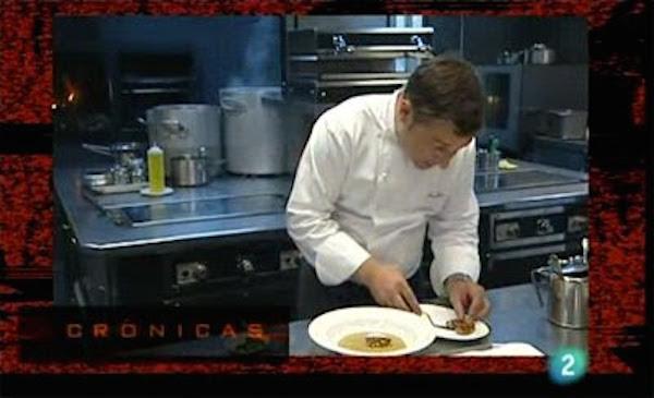 Fotograma del programa Crónicas - Alta Cocina