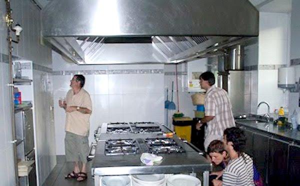 Cocina de la Sociedad Gastronómica Mariñelak