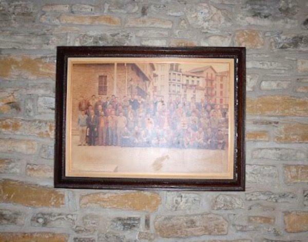 Socios fundadores de la Sociedad Gastronómica Mariñelak