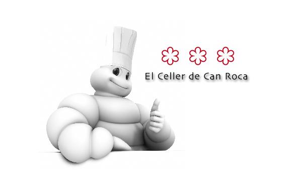 """Tres hermanos Roca, tres """"j"""", tres estrellas Michelin ¡todo cuadra! ;)"""