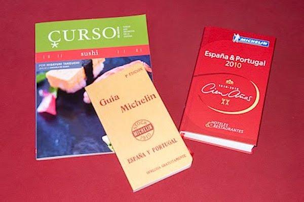 Curso de Cocina: Sushi y la Guía Michelin España & Portugal 2010