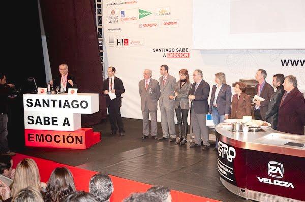Acto de inauguración oficial del Fórum Santiago 2010