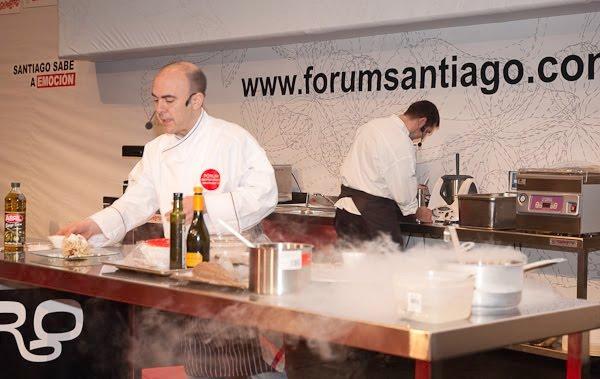 Koldo Rodero en el Fórum Santiago 2010
