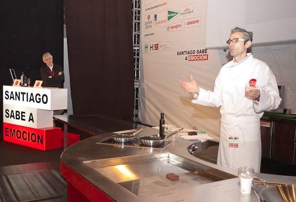 Antonio González en el Fórum Santiago 2010