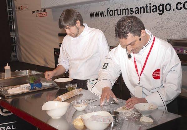 Gonzalo Rei en el Fórum Santiago 2010
