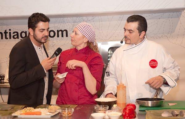 Restaurante Madame Ragú en el Fórum Santiago 2010