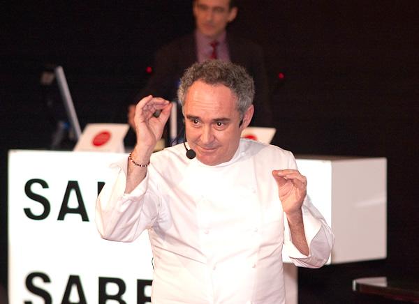 Ferran Adrià en Fórum Santiago 2010