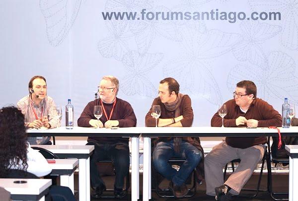 Álvaro Cernada, Miguel Vila, Pedro Martino y Marcos Morán