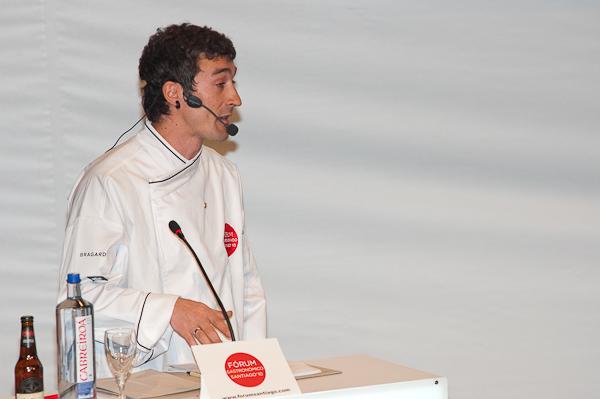 Eneko Atxa en el Fórum Santiago 2010