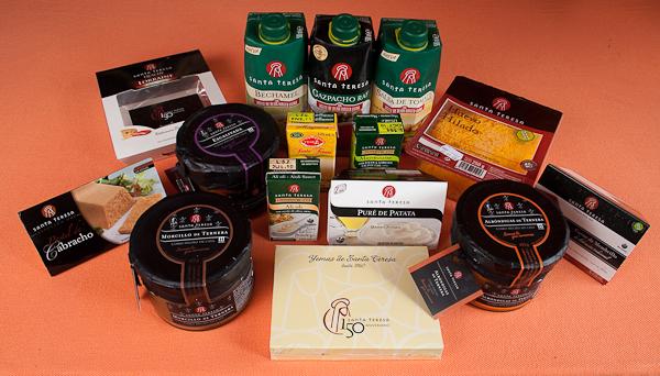 Selección de productos Santa Teresa