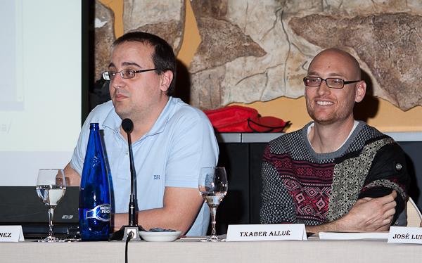 Daniel Martínez y Txaber Allué
