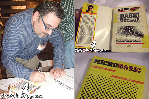 Firma del libro Microbasic
