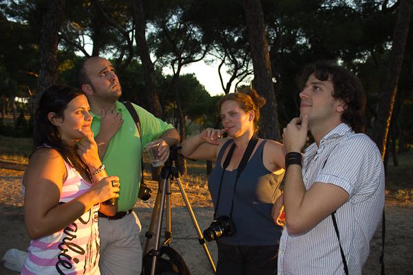 Montse, Andoni, Anna y Miquel en pose natural