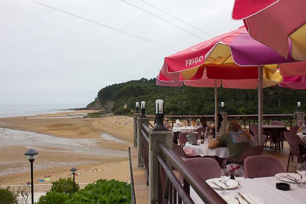 Restaurante Vista Alegre en la Playa La Griega