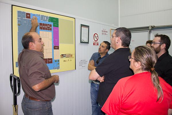 Visita Instalaciones Catering San Jorge