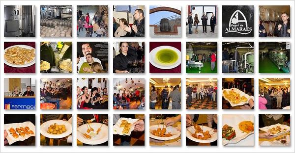 Encuentro de Bloggers Gastrotur en 59 imágenes
