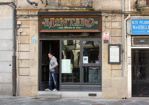 Montero en Salamanca