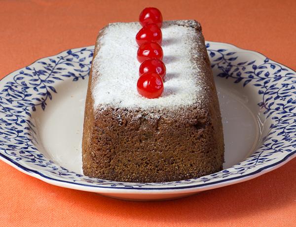Plum cake sin gluten