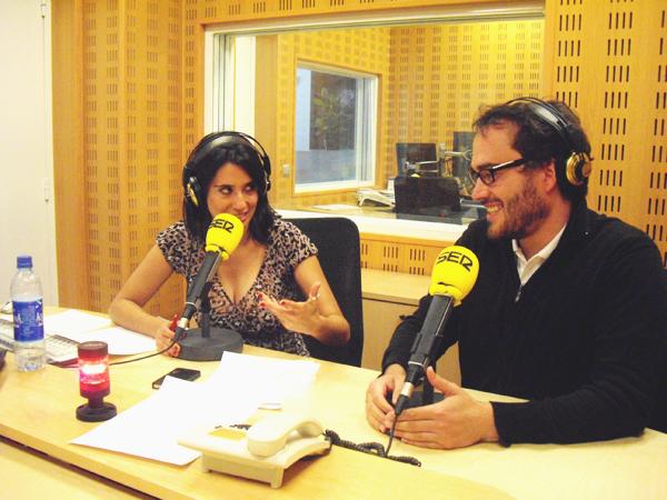 Programa Hoy por Hoy San Sebastián. Vanessa y Xabi