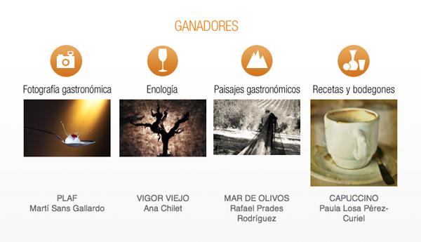 Fotos ganadoras del Concurso de Fotografía Gastronómica