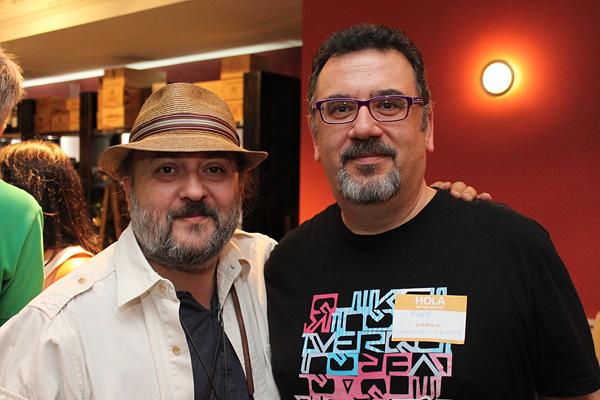 Sacha Hormaechea y Rafa Prades