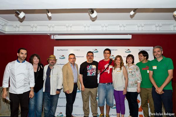 Mario Sandoval, jurado y ganadores