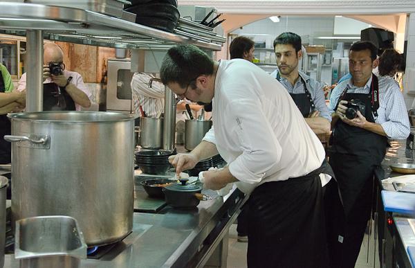 En la cocina del Café de Oriente con Pedro Quián