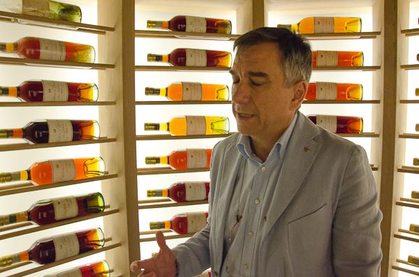 José Polo nos enseña la colección de Château d'Yquem