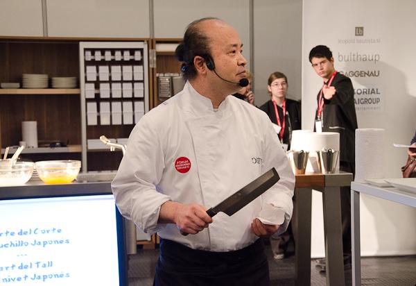 Yukihiko Shidara en el Fórum Gastronomic de Girona 2011