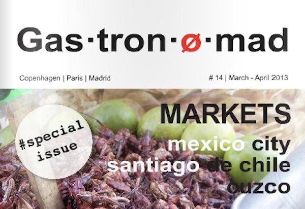 Revista online Gastronomad